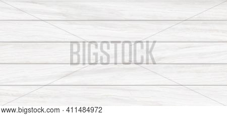 White Wooden Background, Wood Table, Tabletop Texture Top View With Horizontal Planks, Kitchen Count
