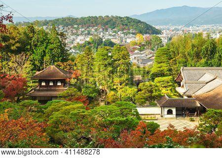 Jishijo, Temple Of The Silver Pavilion In Kyoto, Kinki, Japan