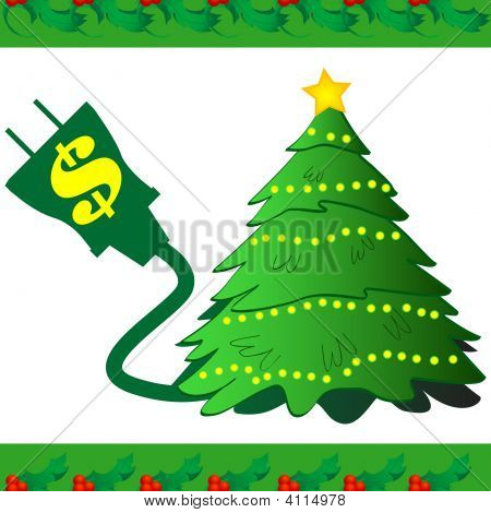 Christmas Tree Power Icon