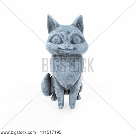 3d Rendered Images Of Cat Statue Shadow, Rendered, Clipping, Nile, Object, King, Egyptian