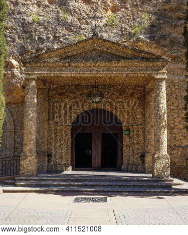 Sanctuary Of Hope, Santuario De La Virgen De La Esperanza In Calasparra, Murcia Region In Spain. The