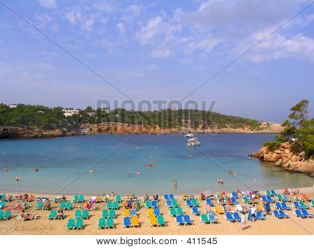 Portinatx Beach (ibiza, Spain)