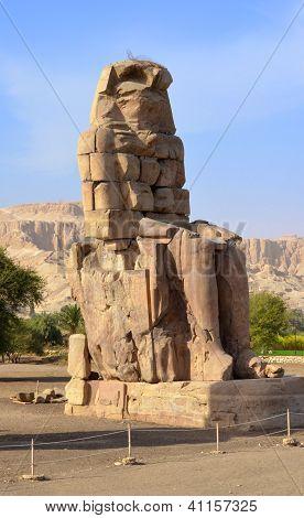 Colossi Of Memnon At Luxor