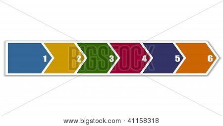 Arrow Banner In Six Steps