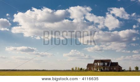 Lonely House On The Prairie