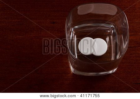 Pills In A Glass