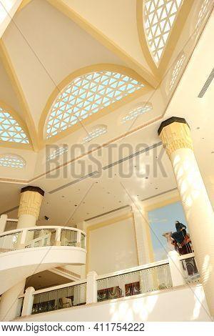 Sharm El Sheikh, Egypt -  November 28: The Lobby Of Melia Sharm Hotel And Tourists Are On Vacation O
