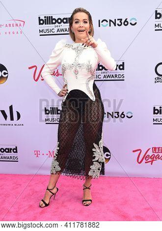 LOS ANGELES - MAY 21:  Rita Ora arrives for  2017 Billboard Music Awards on May 21, 2017 in Las Vegas, NV