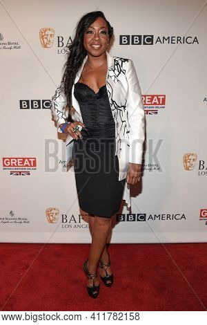 LOS ANGELES - JAN 7:  Tichina Arnold arrives for  BAFTA Los Angeles Tea Party 2017 on January 07, 2017 in Beverly Hills, CA