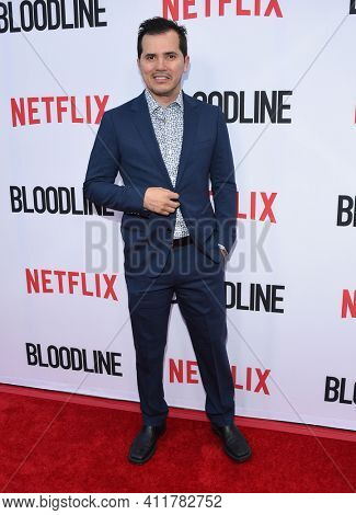 LOS ANGELES - MAY 24:  John Leguizamo arrives for  the 'Bloodline' Season 3 Premiere on May 24, 2017 in Culver City, CA