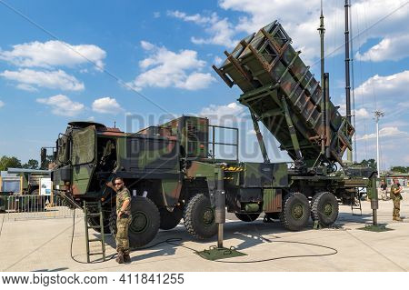 German Army Military Mobile Mim-104 Patriot Surface-to-air Missile Sam System. Germany - June 9, 201