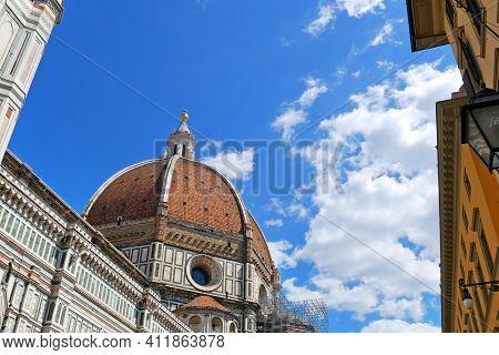 Basilica Di Santa Maria Del Fiore, Florence Duomo, Florence, Italy. Santa Maria Del Fiore Church And