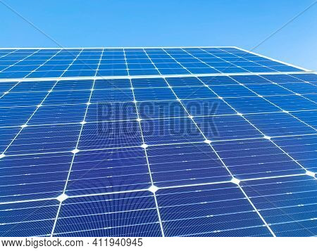 Solar Plant(solar Cell) Need To Hot Climate Causes Increased Power Production, Alternative Energy To