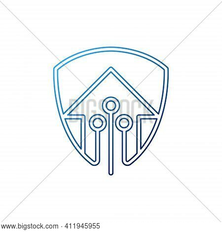 Home Security Logo Icon vector design illustration. Home Security logo. Home. Home Logo. House Logo. Home vector, Home Logo vector, Home symbol, Home sign, Home Logo design. House Logo icon vector. Home Security logo isolated on white background
