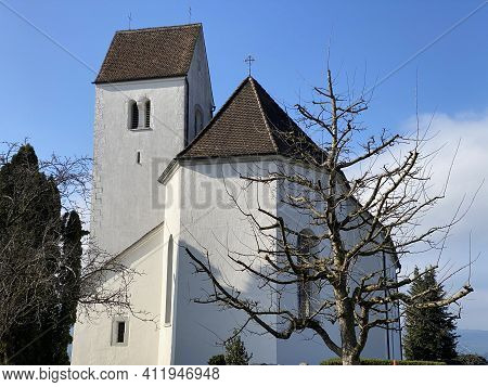 Roman Catholic Church Of St. Michael (römisch-katholische Kirche St. Michael), Oberwil-lieli - Switz