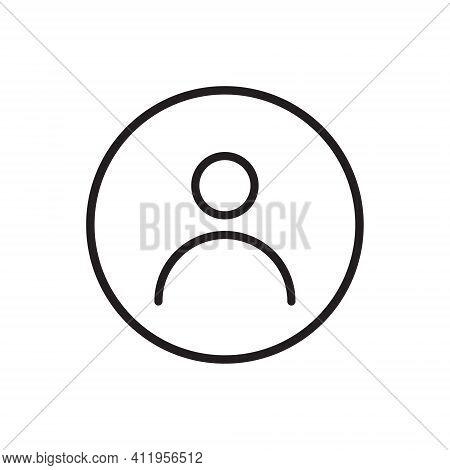 Social Media User Icon Vector. Default Avatar Profile Image