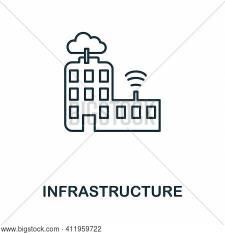 Infrastructure Icon. Simple Element From Team Building Collection. Creative Infrastructure Icon For