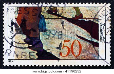 Postage Stamp Germany 1978 Refugees