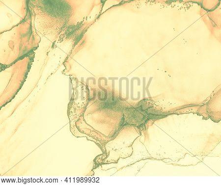 Fluid Art. Marble Abstract Background. Alcohol Ink Design. Liquid Texture. Fluid Art. Creative Wave