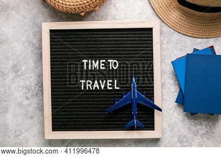 Preparation For Travel. Traveling Journey Vacation Holiday Concept. Tourism Travel Concept. Travel P