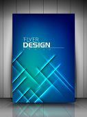 Professional business flyer template or corporate banner design  for publishing, print and presentation. EPS 10. poster