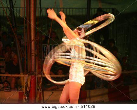 Hula Hoop Girl 1