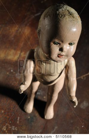 Creepy Antique Doll
