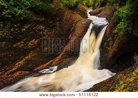 Gorge Falls Michigan Great Lakes Waterfall