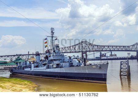 Ship Uss Kidd Serves As Museum