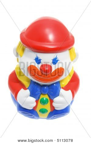 Roly-poly Toy Clown