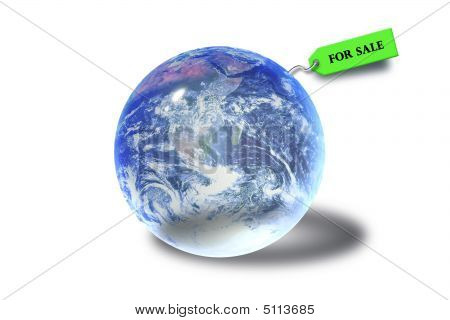 Earth Marble For Sale