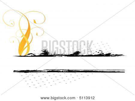 Floral Decorative Illustration
