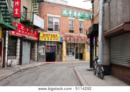 Doyer's Corner, Chinatown, New York City