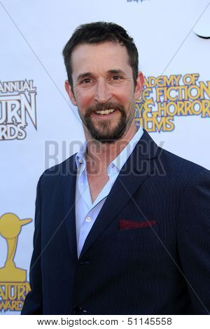 LOS ANGELES - JUN 26:  Noah Wyle arrives at the 39th Annual Saturn Awards at the Castaways on June 26, 2013 in Burbank, CA