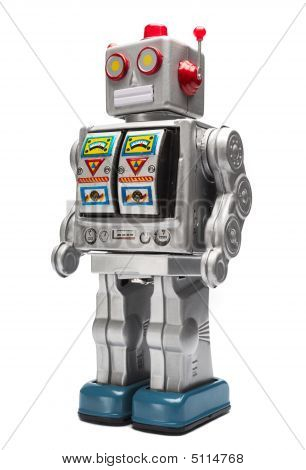 Toy Tin Robot
