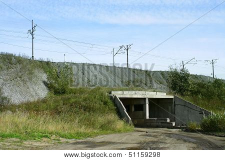 Tunnel In The Mound Of Transsib