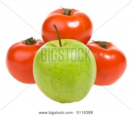 Apple And Tomato