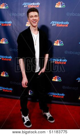 NEW YORK-SEP 18: Magician Collins Key at the post-show red carpet of