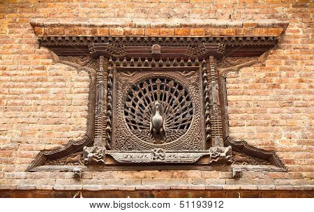 Peacock Window, which is also called the