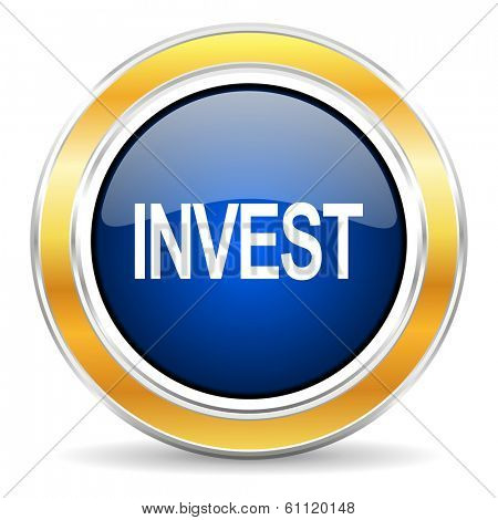 invest icon poster