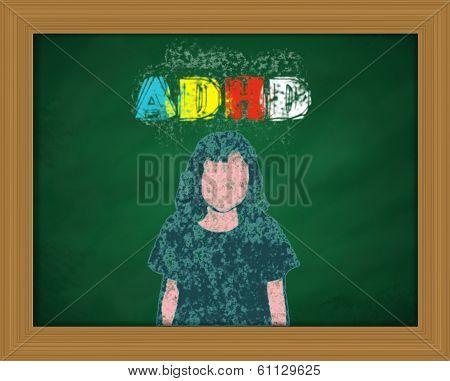 ADHD Chalkboard