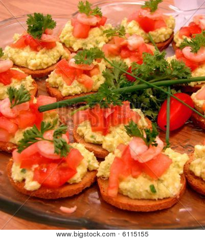 Eggs and crackers