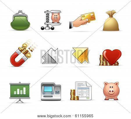 Business and Office - Harmony Icon Set 04