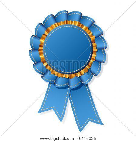 Jean award. Vector illustration.