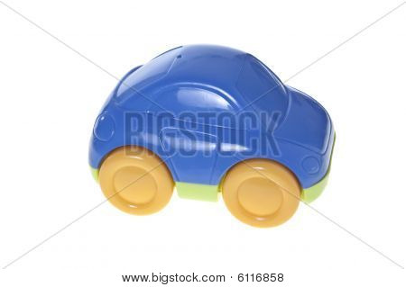 Toy car, isolated on white