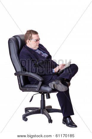 Businessman Isolated