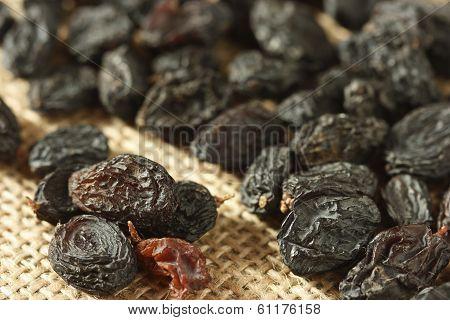 Black Raisins Also Known As Kishmish