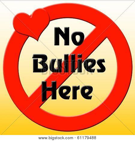 no bullies here