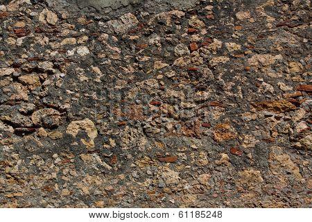 Stone Wall Texture, Baracoa, Cuba
