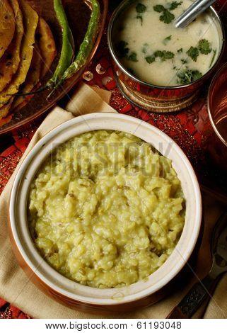 Magni Dalni Khichdi - A Vegetarian Rice Dish Gujarat poster